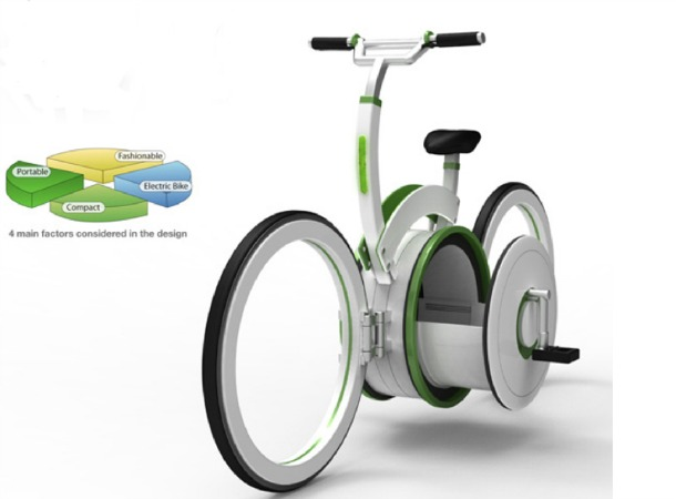 Carrier Bike by Shin Hyung Sub Shin - Incredible bicycle concepts of the future (pictures)