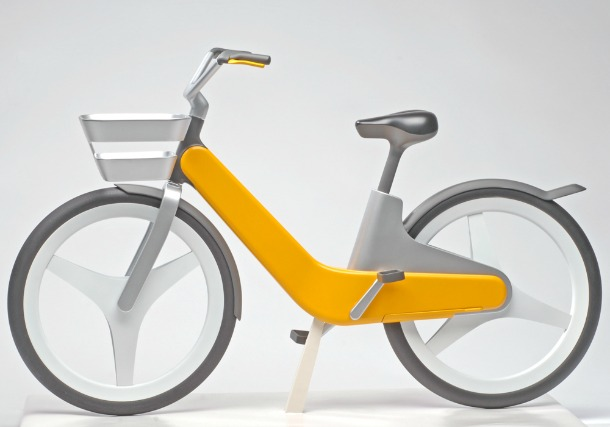 City Pedelec by Philipp Guenther - Incredible bicycle concepts of the future (pictures)
