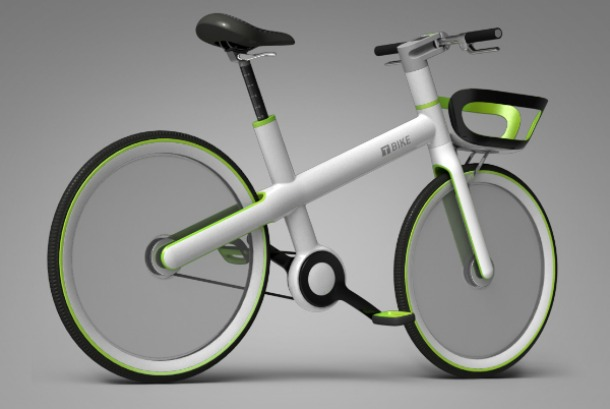 T bike by Jung Geun Tak Shinhyun Kang of T.A.K studio - Incredible bicycle concepts of the future (pictures)