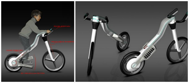 Taurus Seat less Bike by Julia Meyer - Incredible bicycle concepts of the future (pictures)